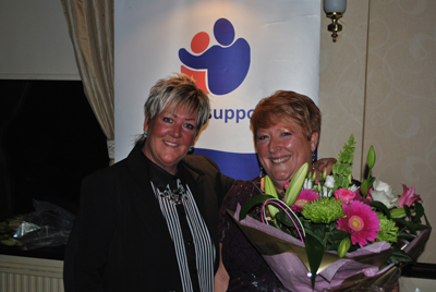 Lynne Robertson & HSBC raises funds for Sincere Support